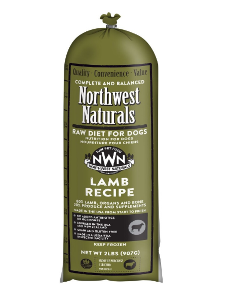 Northwest Naturals Northwest Naturals Chub Lamb Raw Dog Food 5#