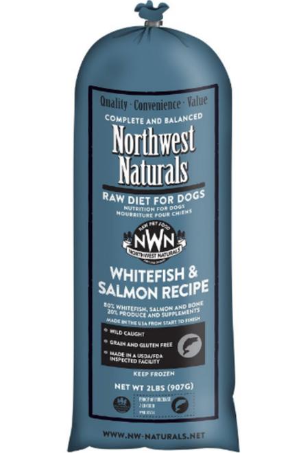 Northwest Naturals Northwest Naturals Chub Whitefish & Salmon Raw Dog Food 5#