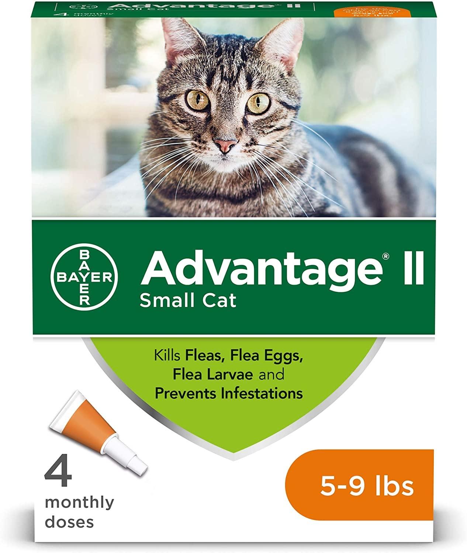 Bayer Advantage II Small Cat 5-9 lbs Topical Flea Control