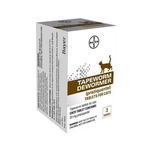Bayer Bayer Tapeworm Dewormer Cat 3 Tab