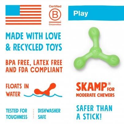 West Paw West Paw Skamp Dog Toy