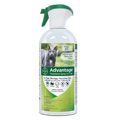 Bayer Advantage Cat Flea & Tick Lice Spray 12z