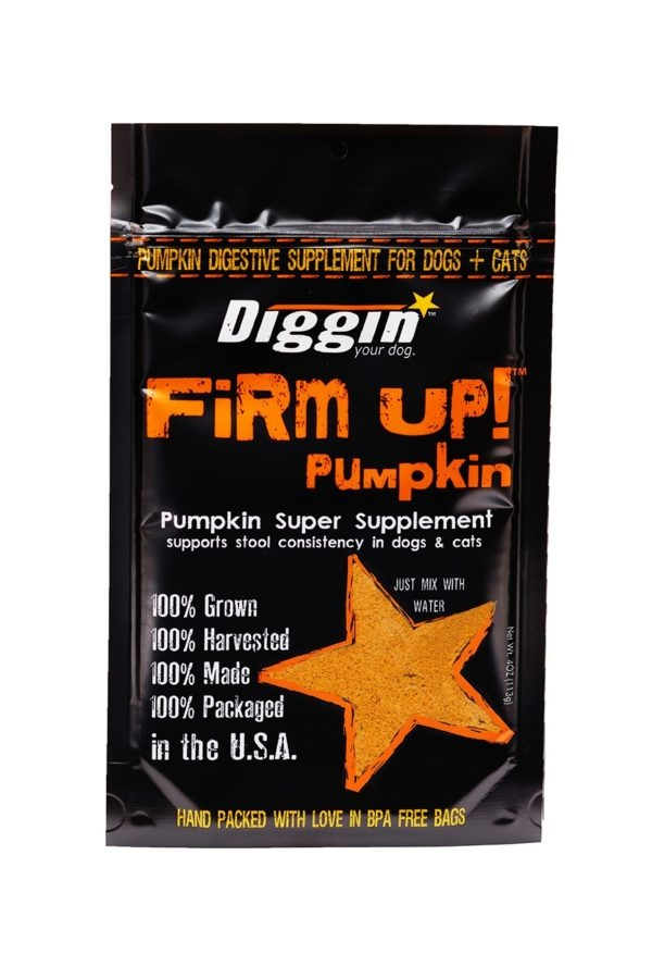 Diggin' Your Dog Diggin' Your Dog Firm Up Pumpkin Supplement 4oz