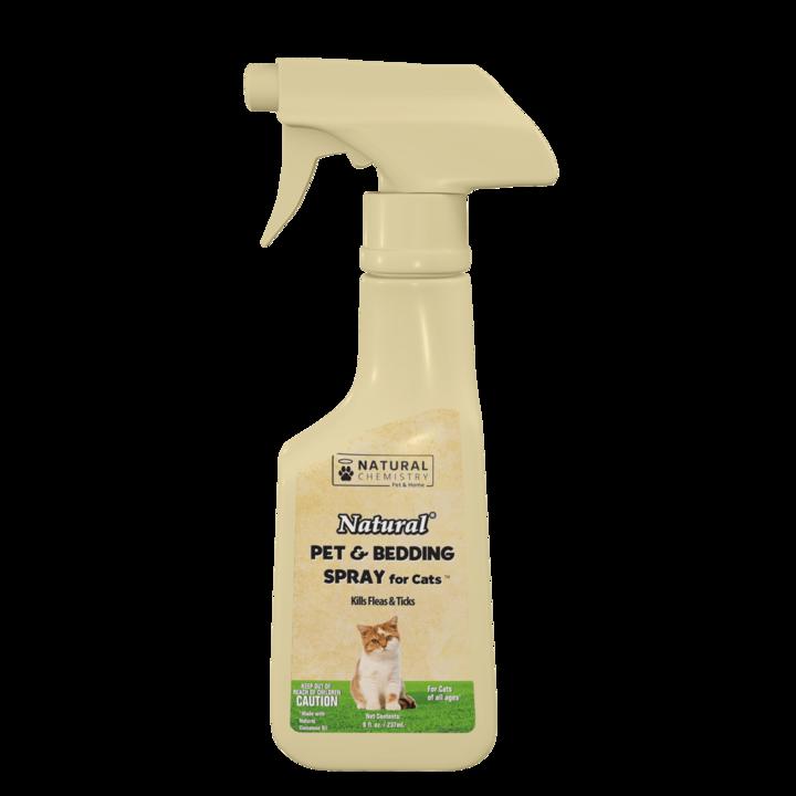 Natural Chemistry Natural Chemistry Flea & Tick Cat Spray 8z