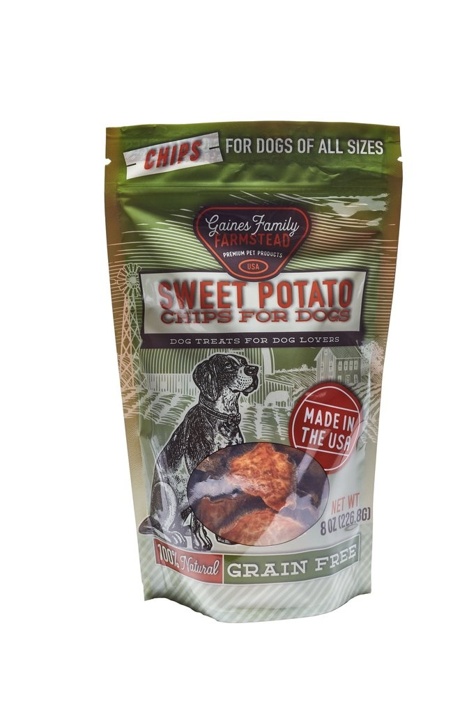 Gaines Family Homestead Gaines Family Farmstead Sweet Potato Chips Dog Treats