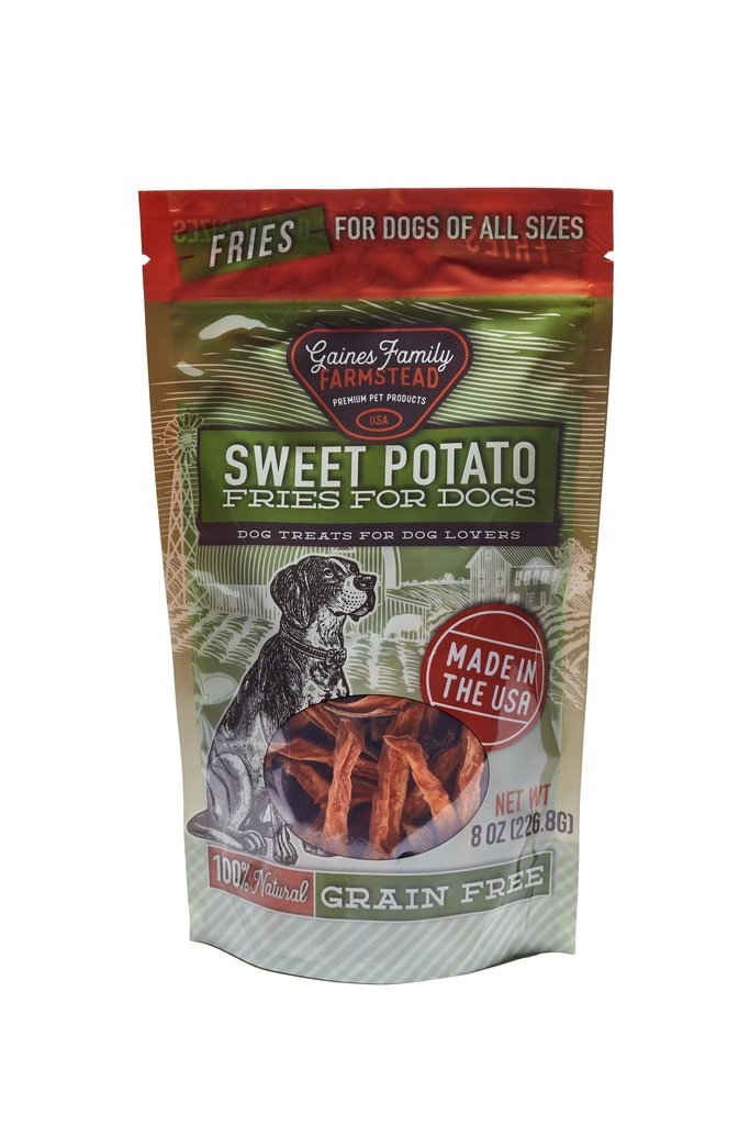 Gaines Family Homestead Gaines Family Farmstead Sweet Potato Fries Dog Treats