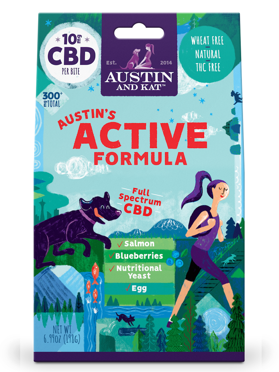 Austin & Kat Austin & Kat Functional Biscuits Austin's Active Recovery Formula CBD Supplement 10mg 30ct