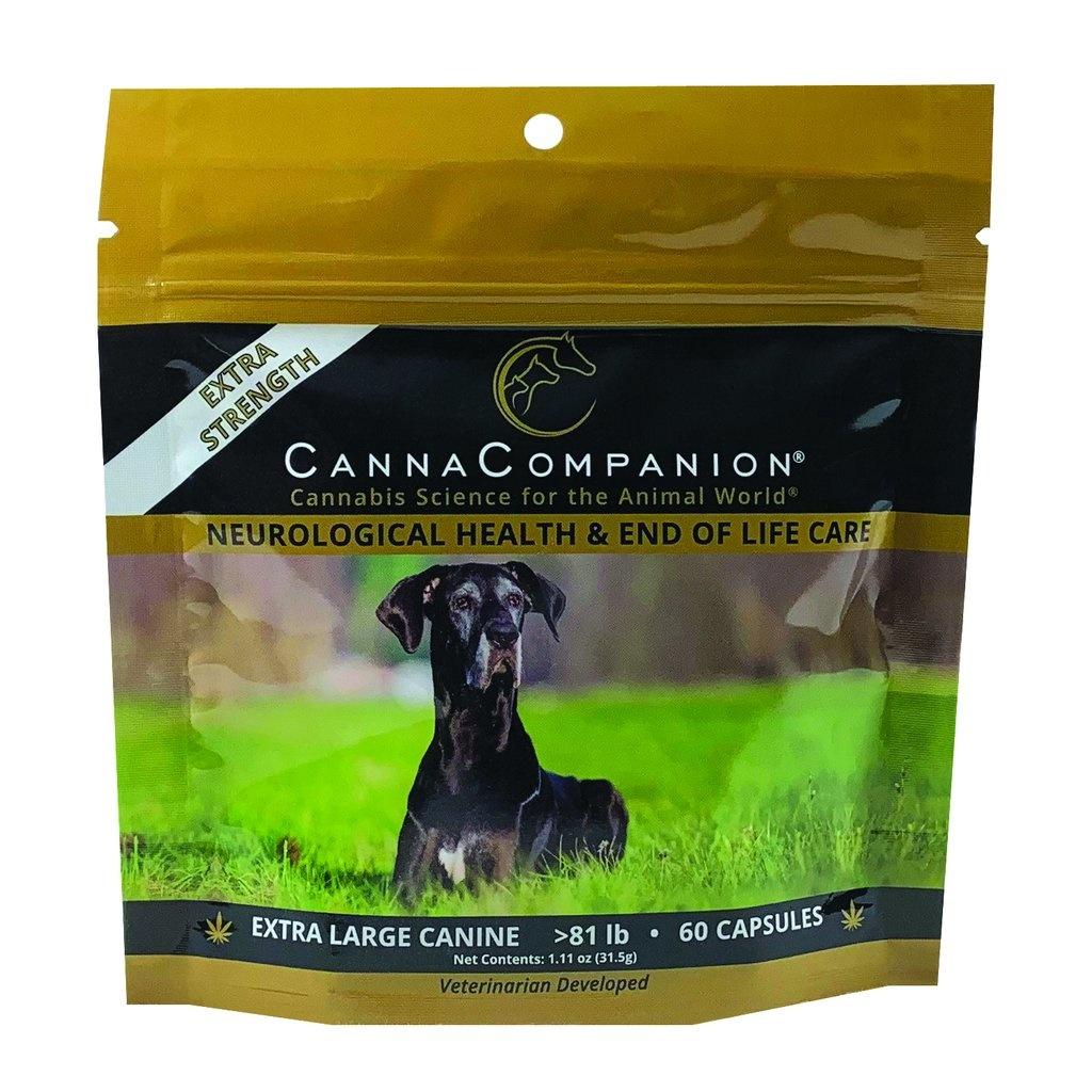 Canna Companion Canna Companion Extra Strength Extra Large Dog CBD Supplement 80+lbs 60ct