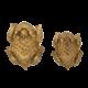Red Barn Redbarn Chew-A-Bulls Horn Toad Dental Dog Treat