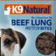 K9 Natural K9 Natural Beef Lung Protein Bites 2.1oz