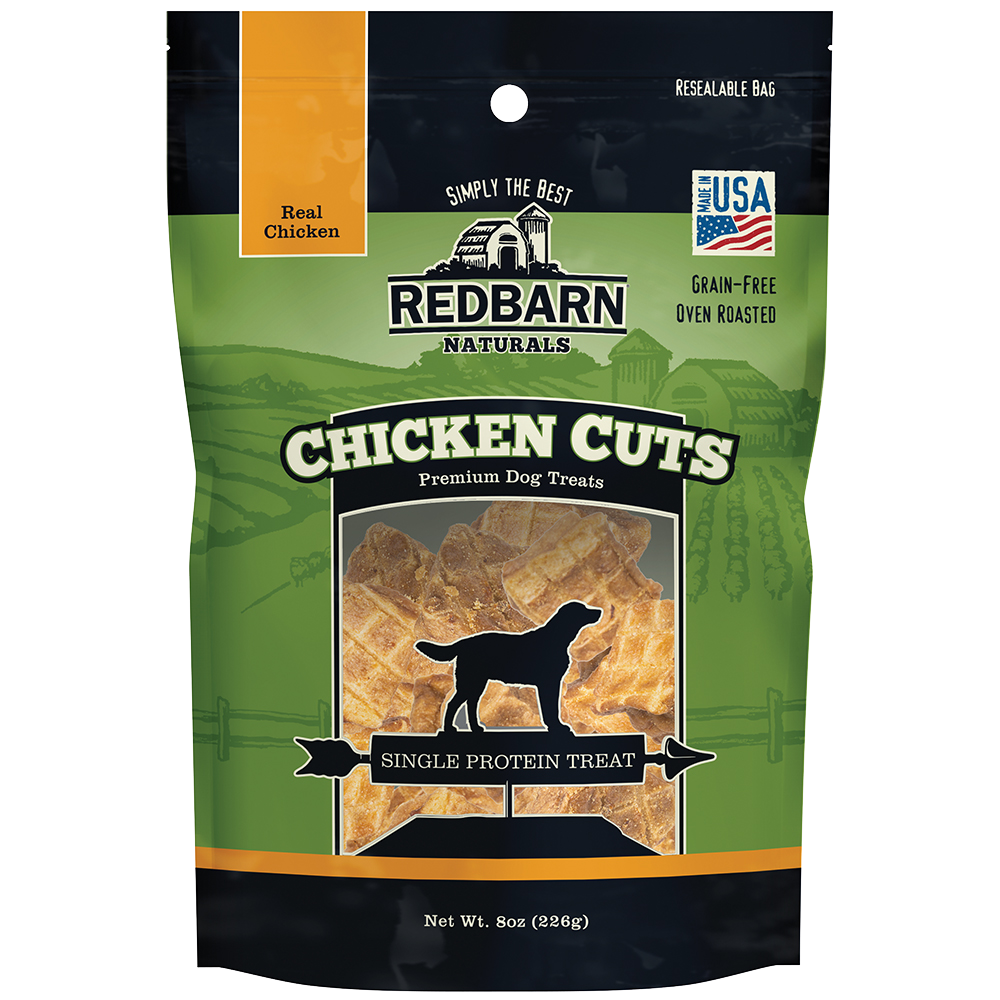 Red Barn Red Barn Chicken Cuts Dog Treats 8oz