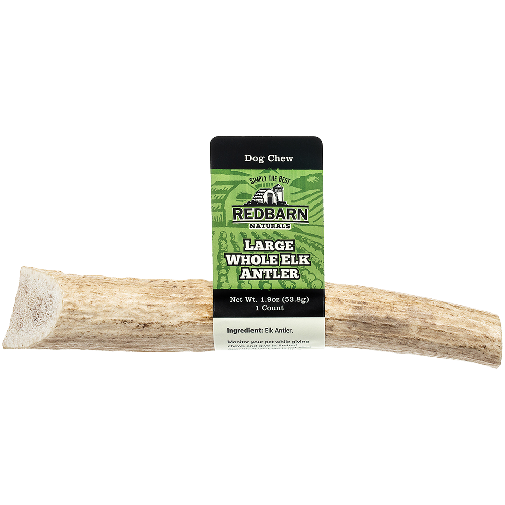 Red Barn Redbarn Natural Elk Whole Antler Dog Treat