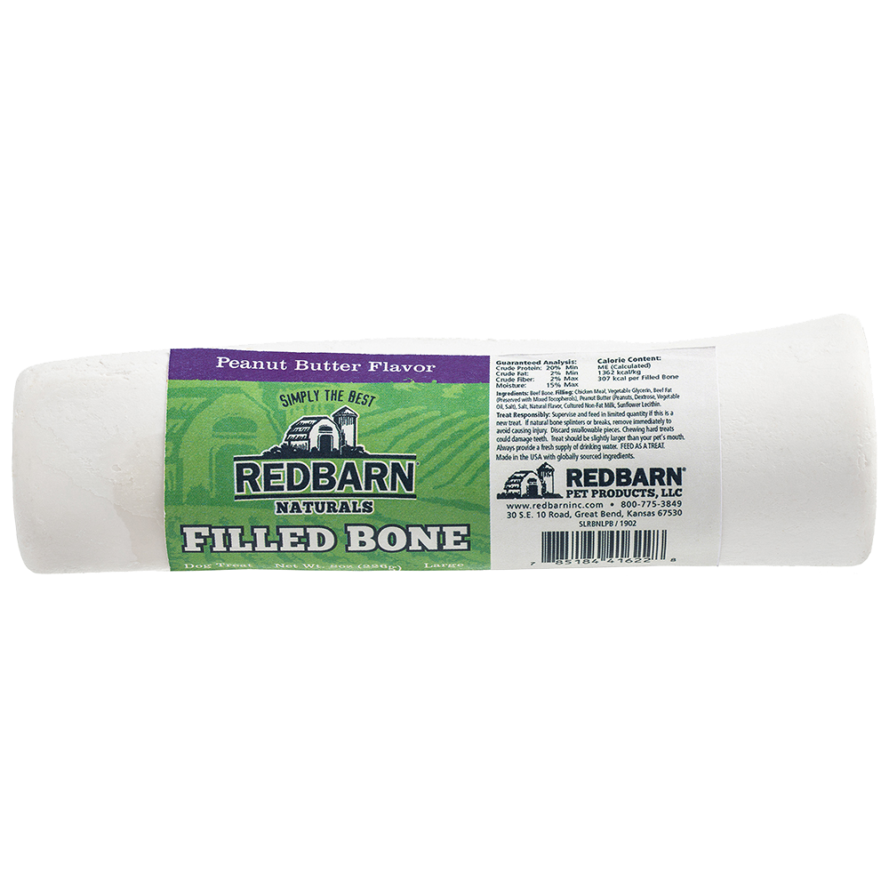 Red Barn Red Barn Filled Bone Natural Peanut Butter Dog Treat