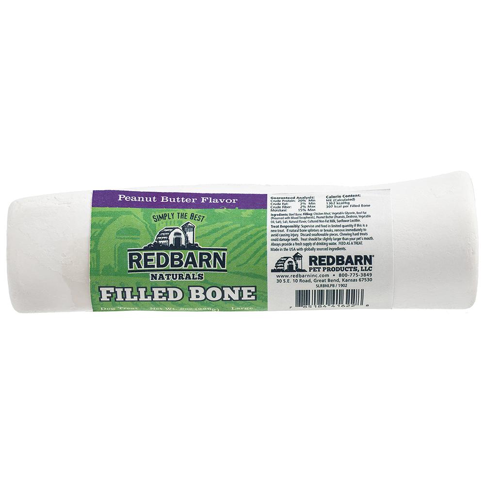 Red Barn RedBarn Filled Bone Natural Peanut Butter Dog Treat