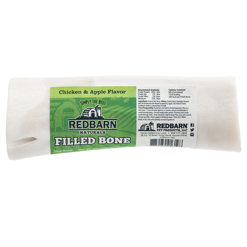 Red Barn Red Barn Filled Bone Natural Chicken & Apple Dog Treat