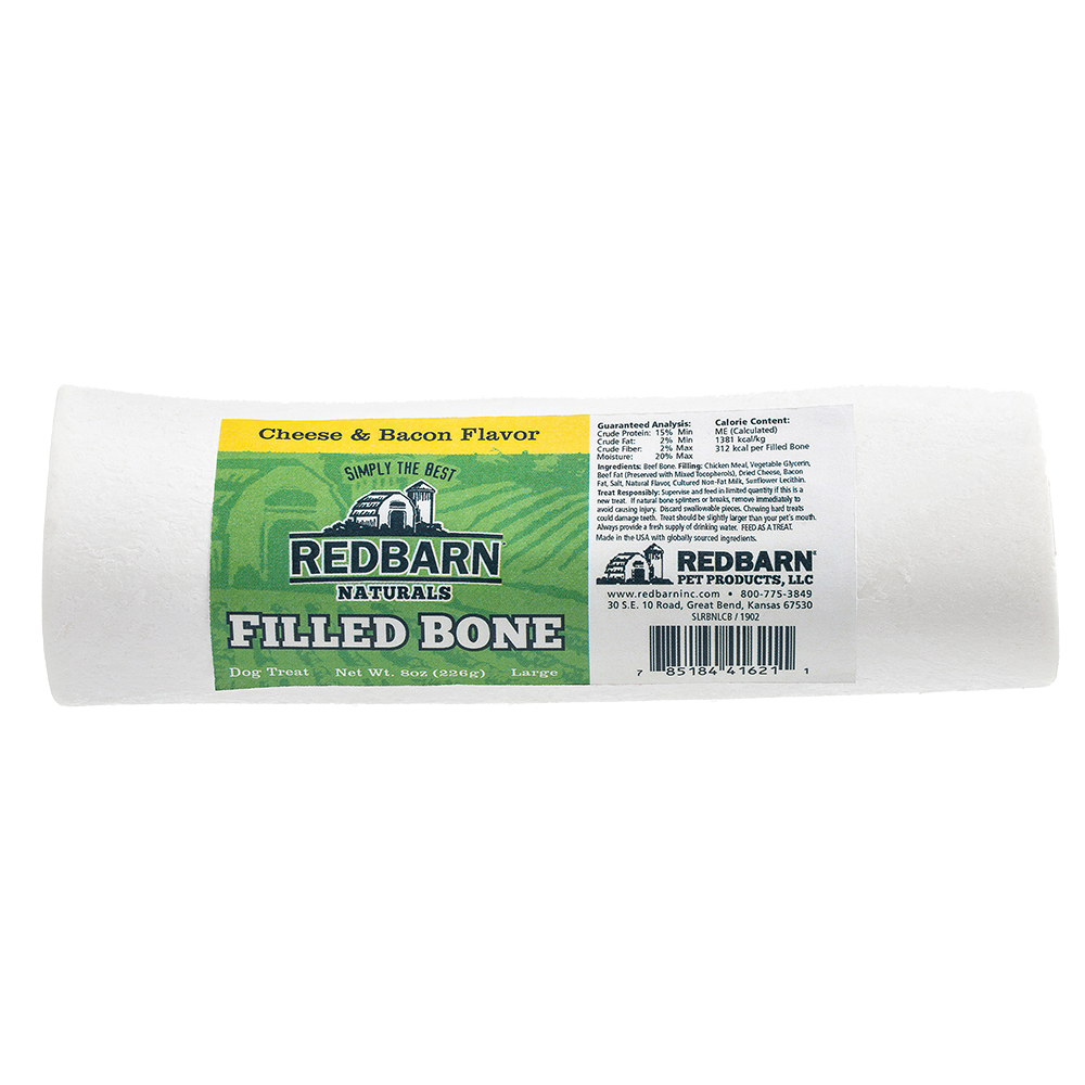 Red Barn Red Barn Filled Bone Natural Cheese & Bacon Dog Treat