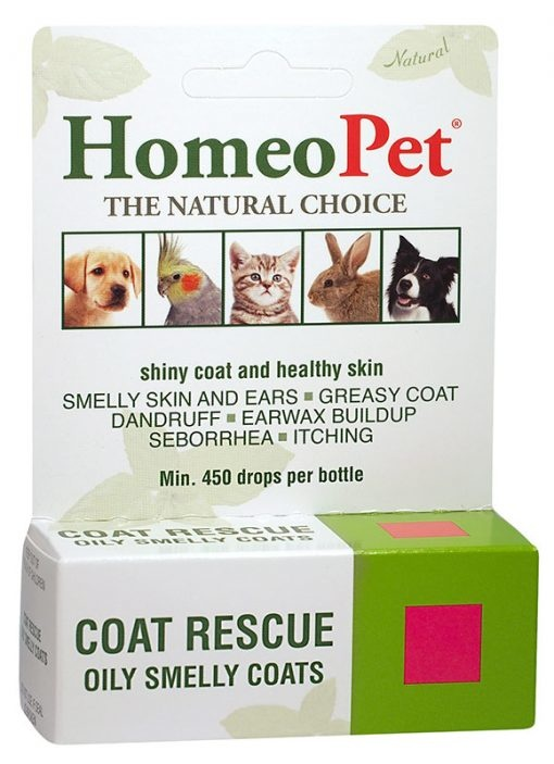HomeoPet Coat Rescue Supplement