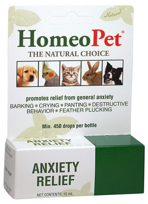 HomeoPet Anxiety Relief Supplement