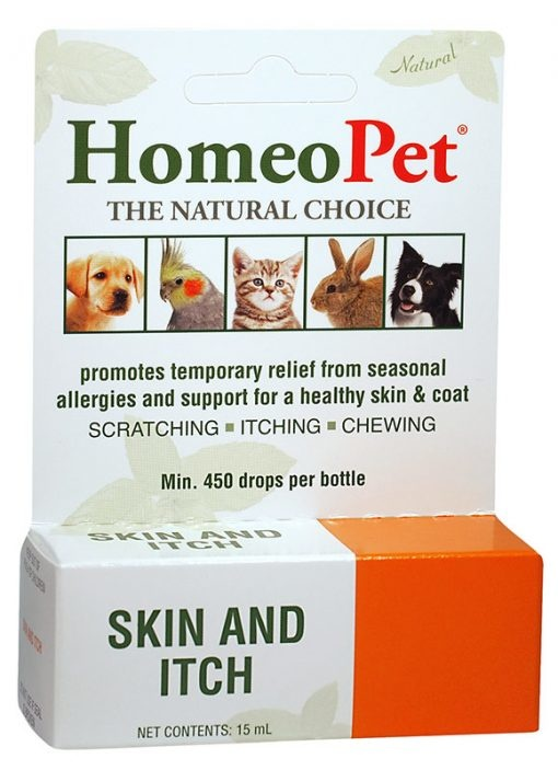 HomeoPet Skin & Itch Supplement