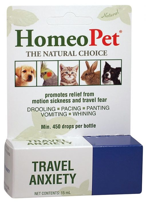 HomeoPet HomeoPet Travel Anxiety Supplement