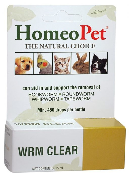 HomeoPet Worm Clear Supplement