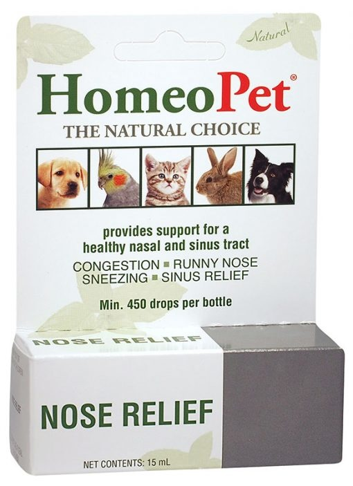 HomeoPet HomeoPet Nose Relief Supplement