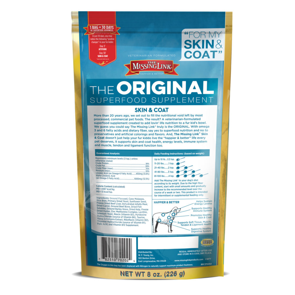 The Missing Link Original Skin & Coat Formula Dog Supplement 1#