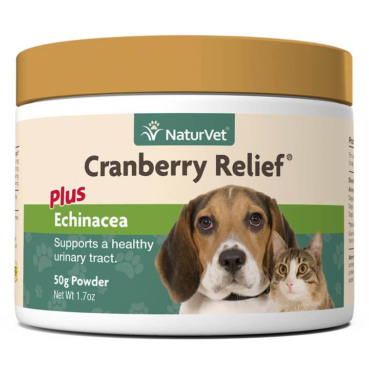 NaturVet NaturVet Cranberry Relief Plus Echinacea 50g