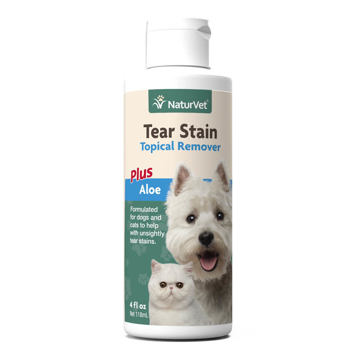 NaturVet NaturVet Tear Stain Topical Remover Plus Aloe 4oz