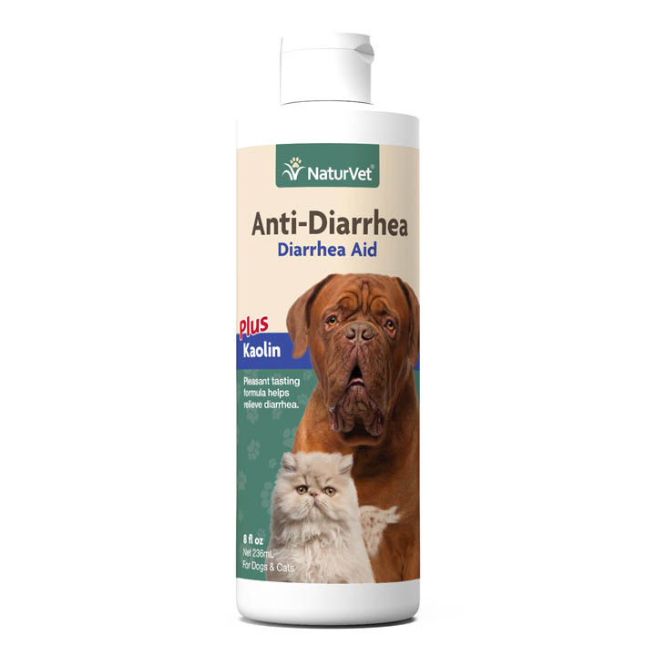 NaturVet NaturVet Anti-Diarrhea Plus Kaolin Supplement 8oz