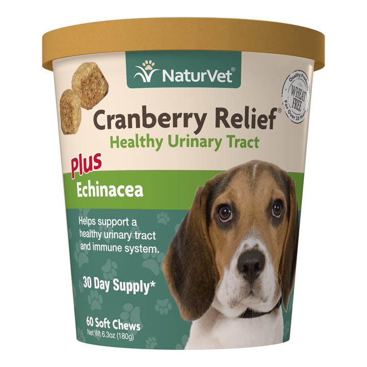NaturVet NaturVet Cranberry Relief Plus Echinacea Soft Chew 60 Count