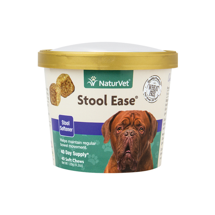 NaturVet NaturVet Stool Ease Soft Chew Soft Chew Dog Supplement 40ct