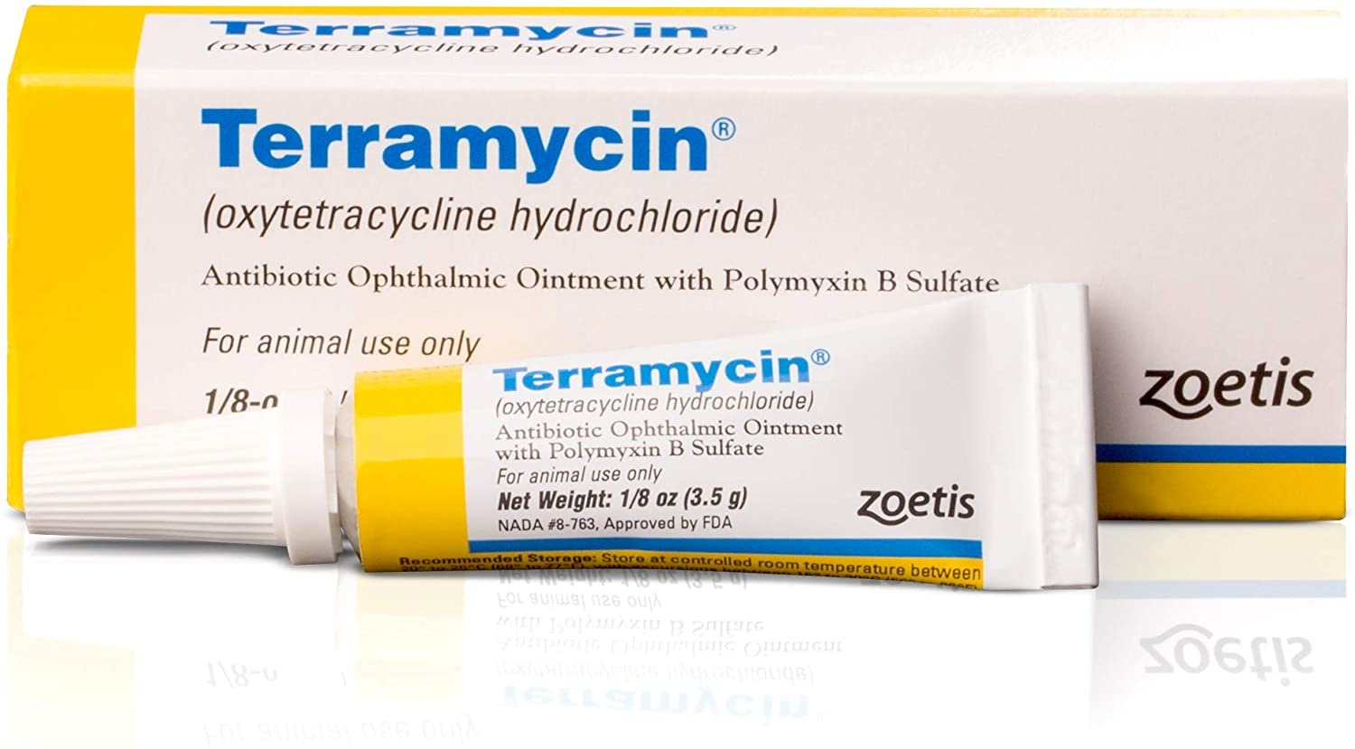 Zoetis Terramycin Ophthalmic Ointment