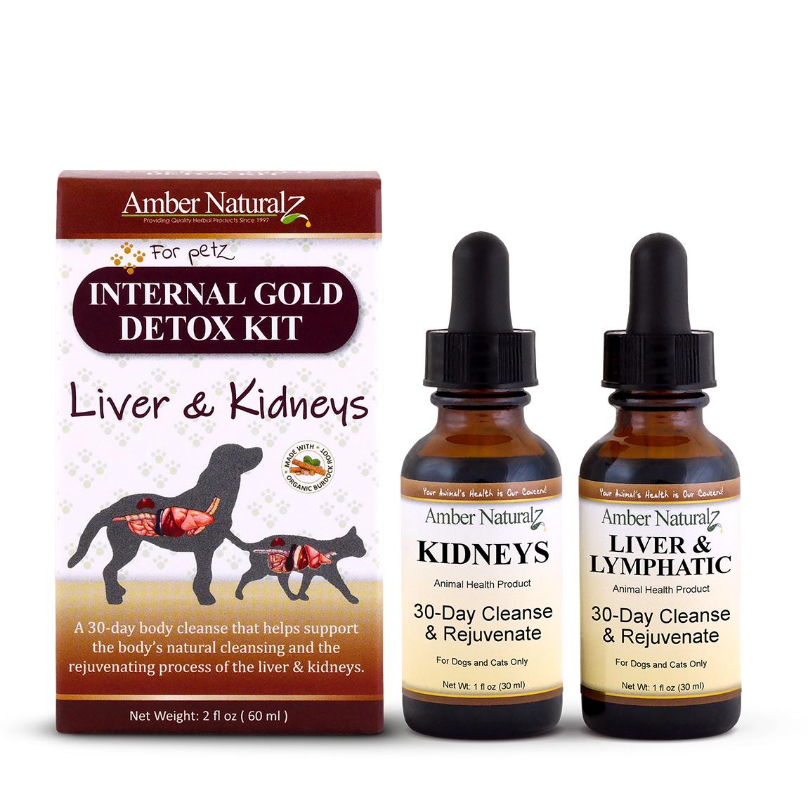 Amber Naturalz Amber Naturalz Internal Gold Detox Kit
