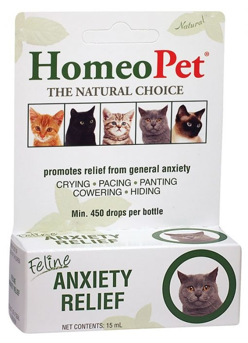 HomeoPet HomeoPet Anxiety Relief Feline Supplement