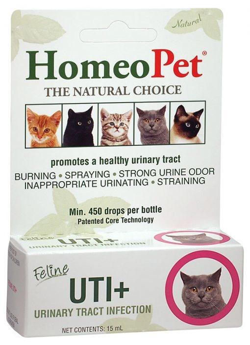 HomeoPet HomeoPet UTI Plus Feline Supplement