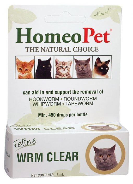 HomeoPet HomeoPet Worm Clear Feline Supplement