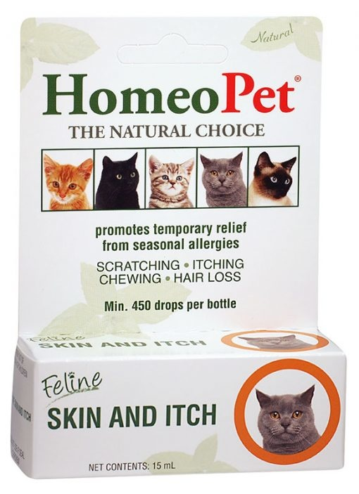 HomeoPet HomeoPet Skin & Itch Feline Supplement