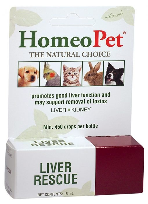 HomeoPet HomeoPet Liver Rescue Supplement