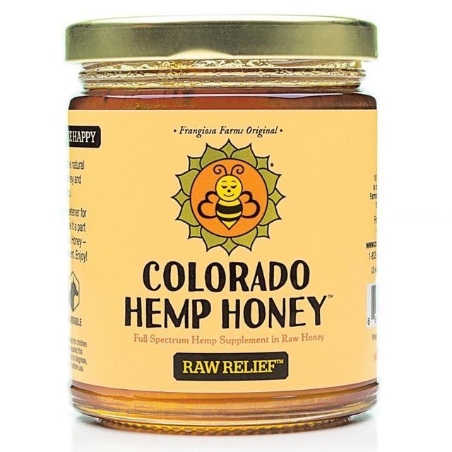 Colorado Hemp Honey Colorado Hemp Honey Raw Relief CBD Supplement