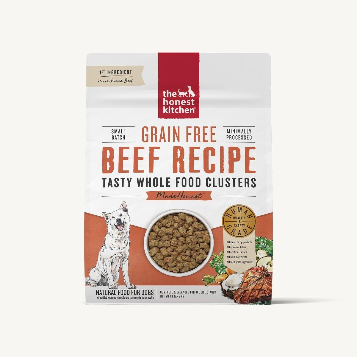 The Honest Kitchen The Honest Kitchen Clusters Grain Free Beef Dog Food