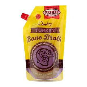 Primal Primal Frozen Turkey Bone Broth 20oz