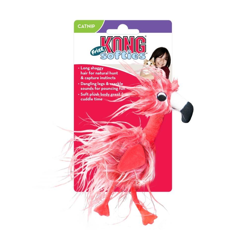 Kong Kong Softies Frizz Bird Cat Toy