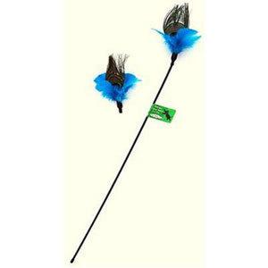 Vee Enterprises Vee Enterprises Purrfect Peacock Feather Cat Toy