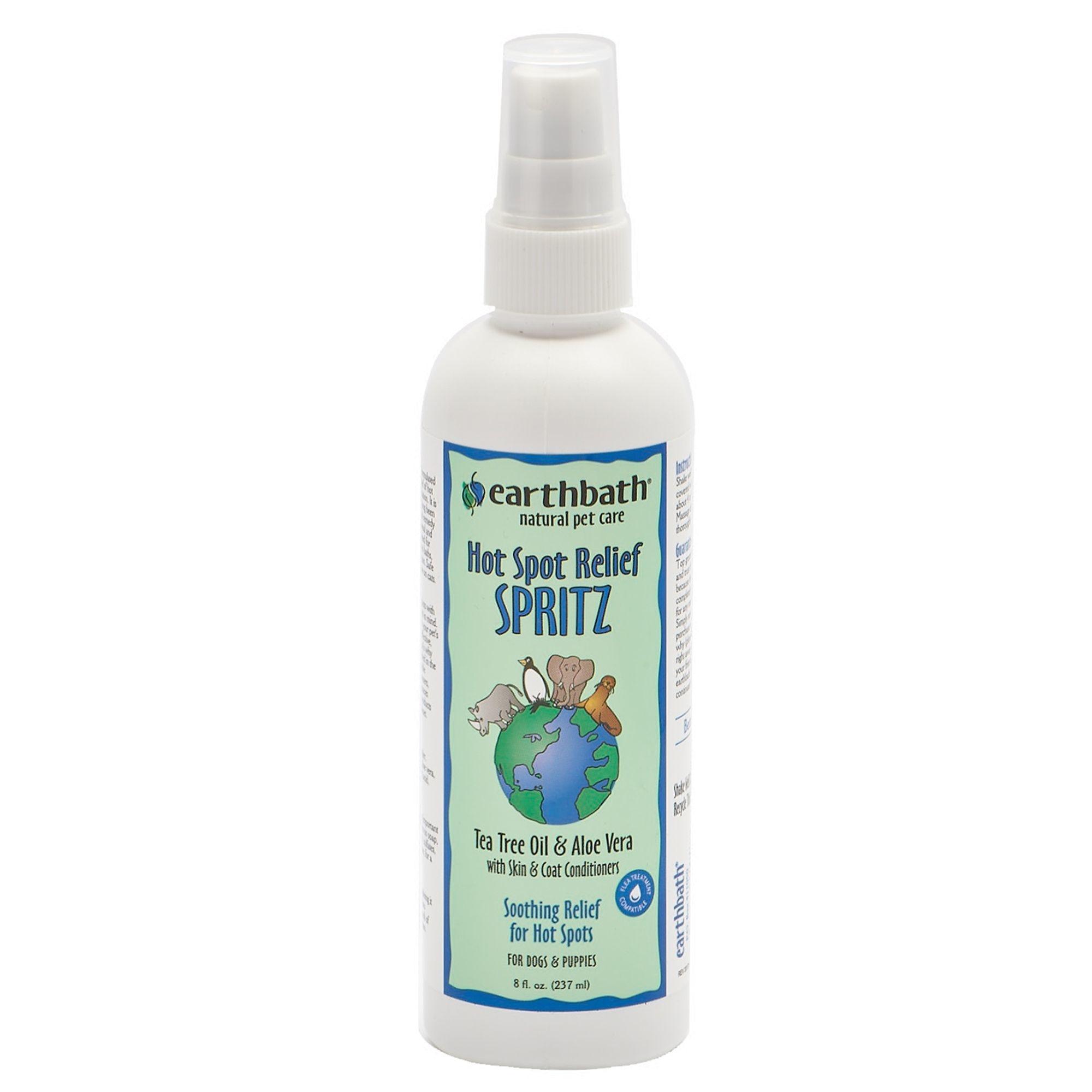 Earthbath Earthbath 3-in-1 Hot Spot Relief Tea Tree & Aloe Spritz 8oz