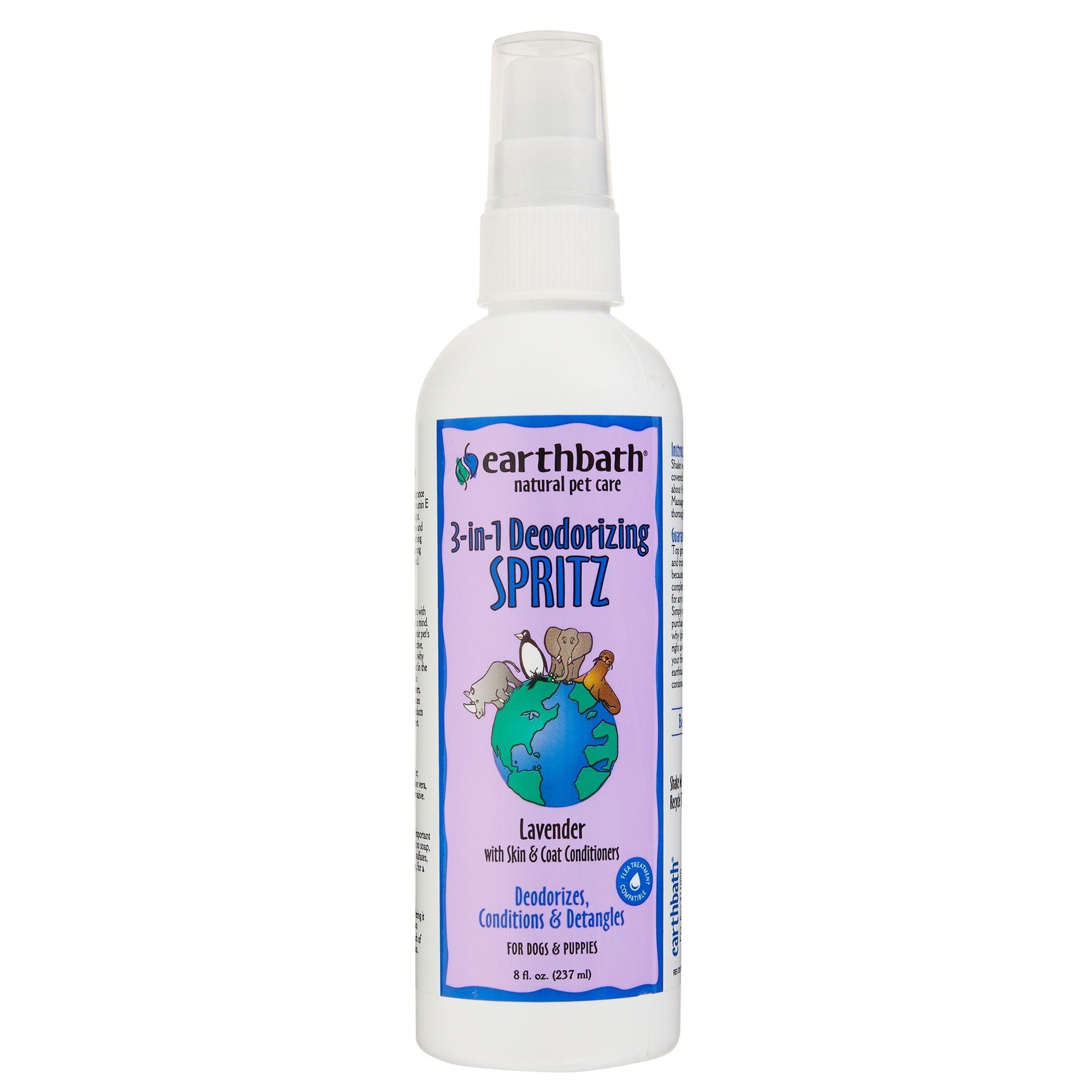 Earthbath Earthbath 3-in-1 Lavender Deodorizing Spritz 8oz