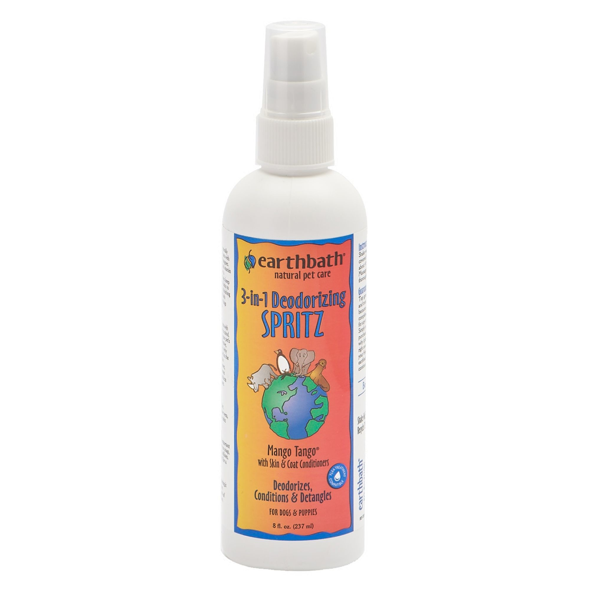Earthbath Earthbath 3-in-1 Mango Tango Deodorizing Spritz 8oz
