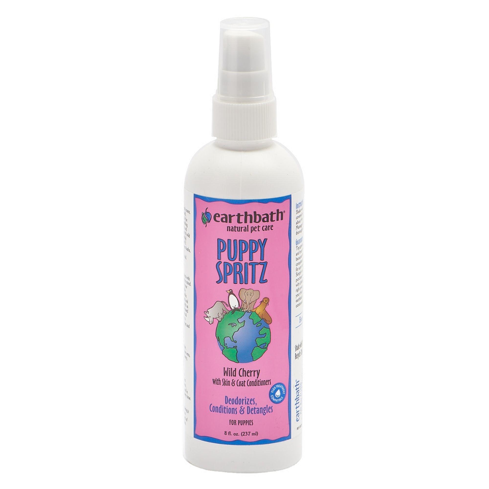 Earthbath Earthbath 3-in-1 Wild Cherry Puppy Deodorizing Spritz 8oz