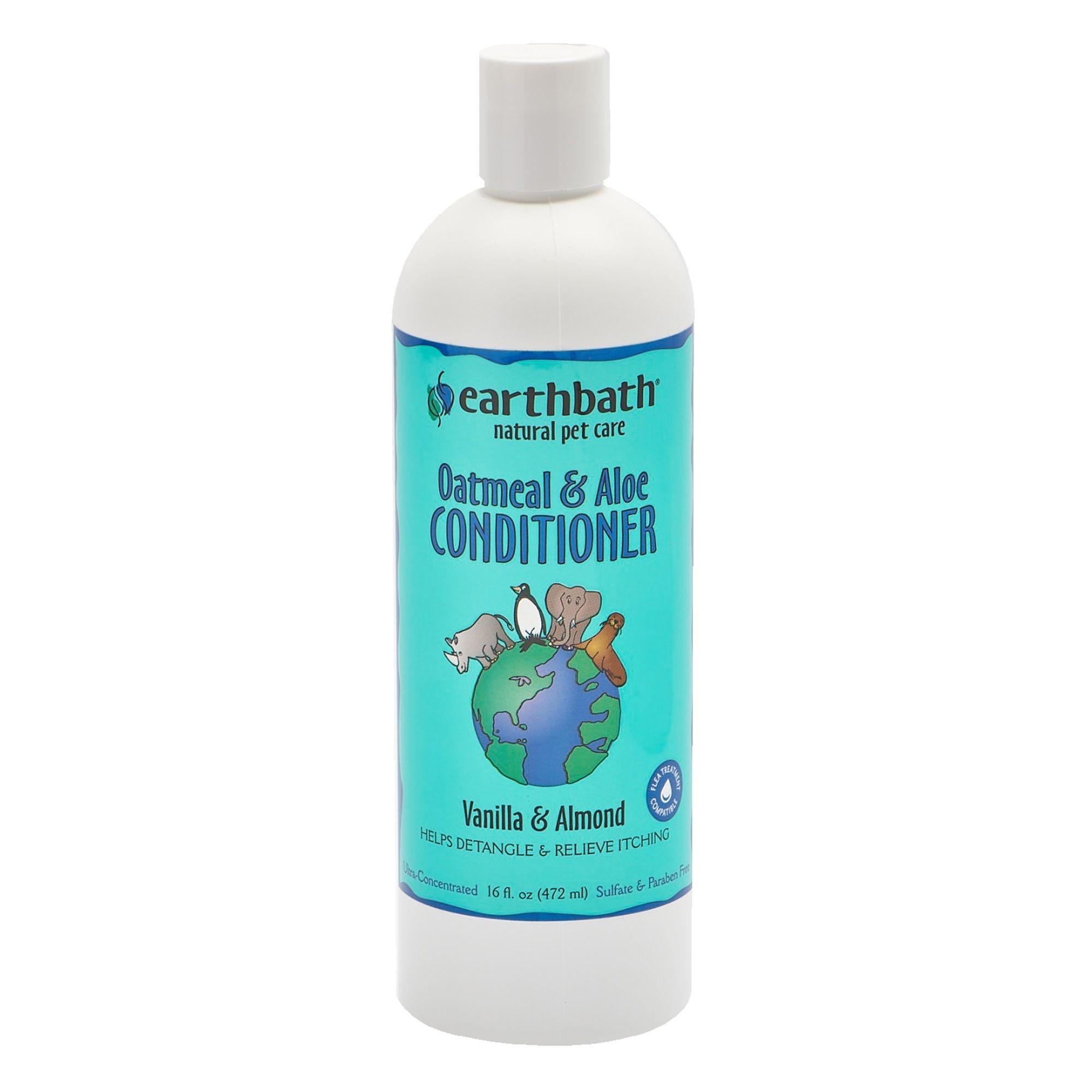 Earthbath Earthbath Oatmeal & Aloe Conditioner Vanilla & Almond Scented 16oz