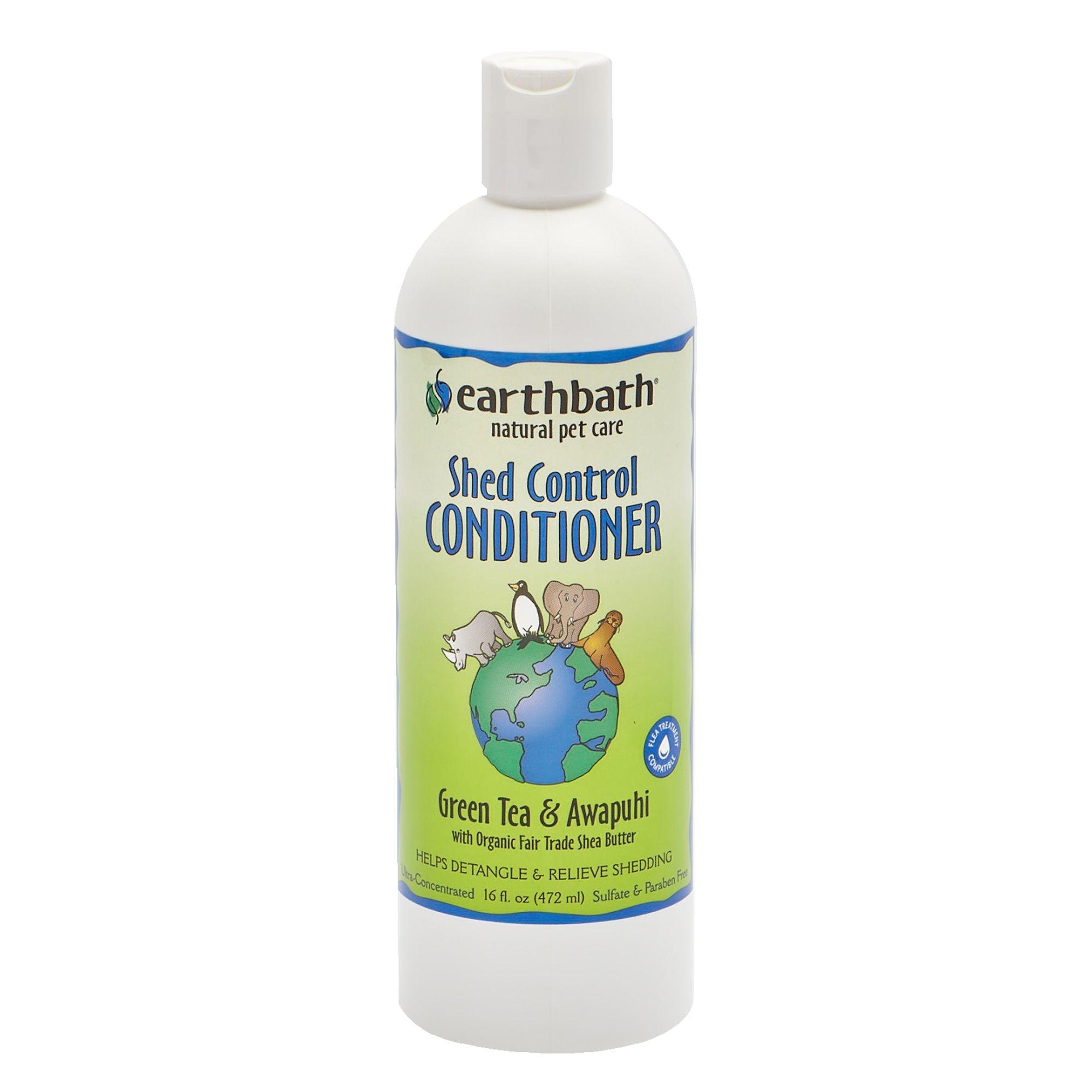 Earthbath Earthbath Shed Control Green Tea & Awapuhi Conditioner 16oz